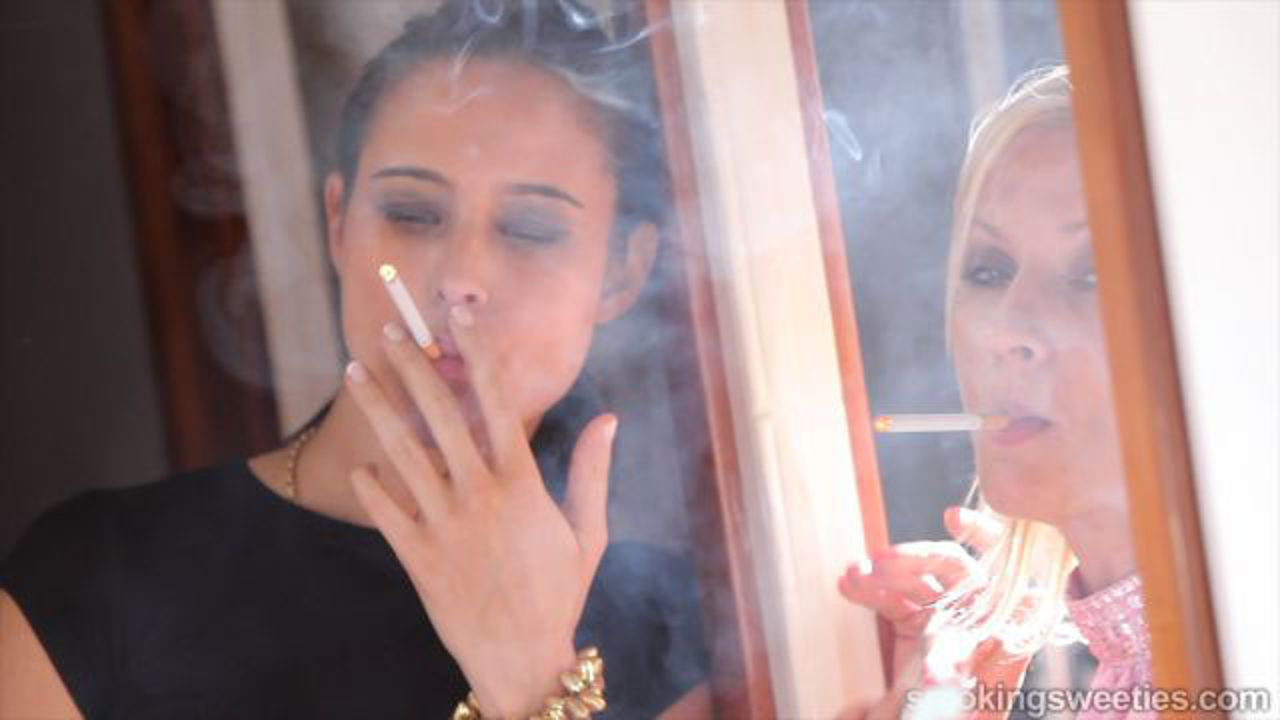 Ajda and Iveta: Chain Smoking