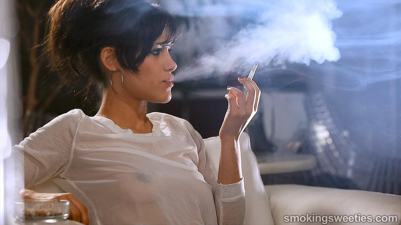 Alba: Taking delight in smoking