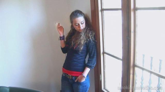 Alejandra: Chain Smoking Girl Interview-Part 2
