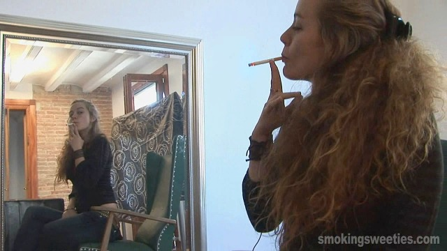 Alejandra: Chain Smoking Girl Interview-Part 2