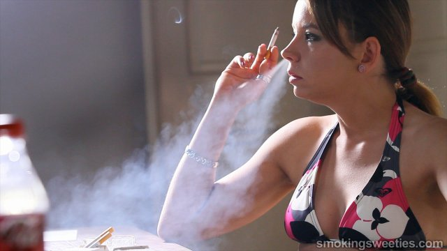 Alesia: Chain Smoking Girl Interview