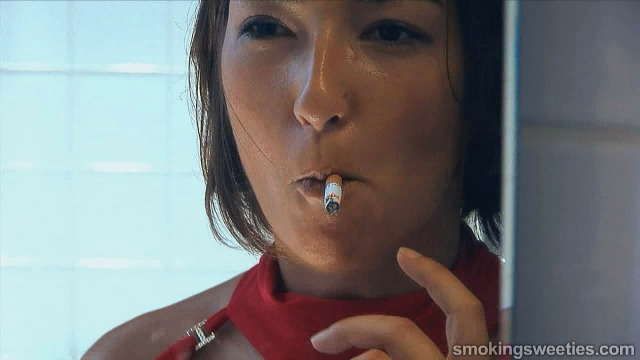 Addicted smoker can't stop