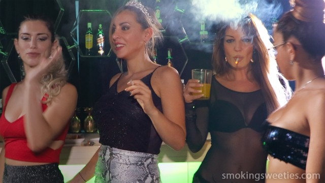 Smoking Ladies Night