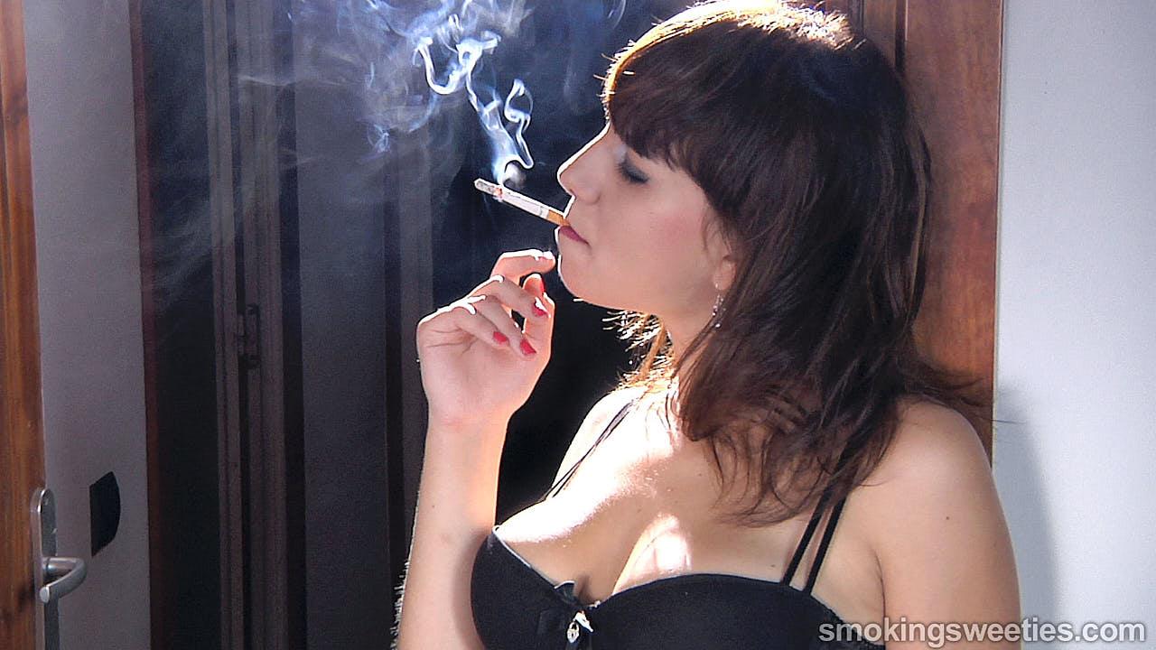 Cleo: She loves to smoke