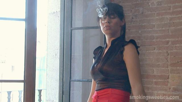 Smoking Business Woman Cravings