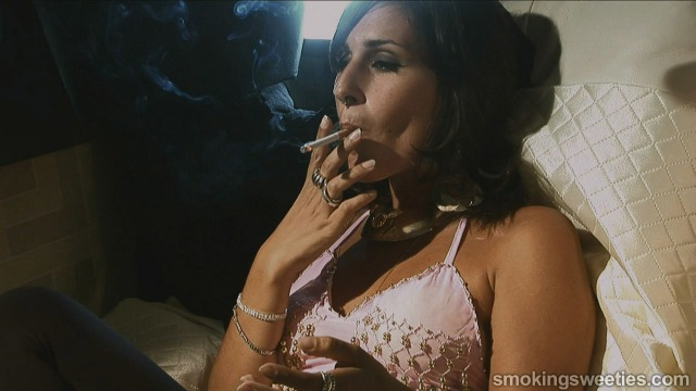 Iranian Smoking Woman part 1