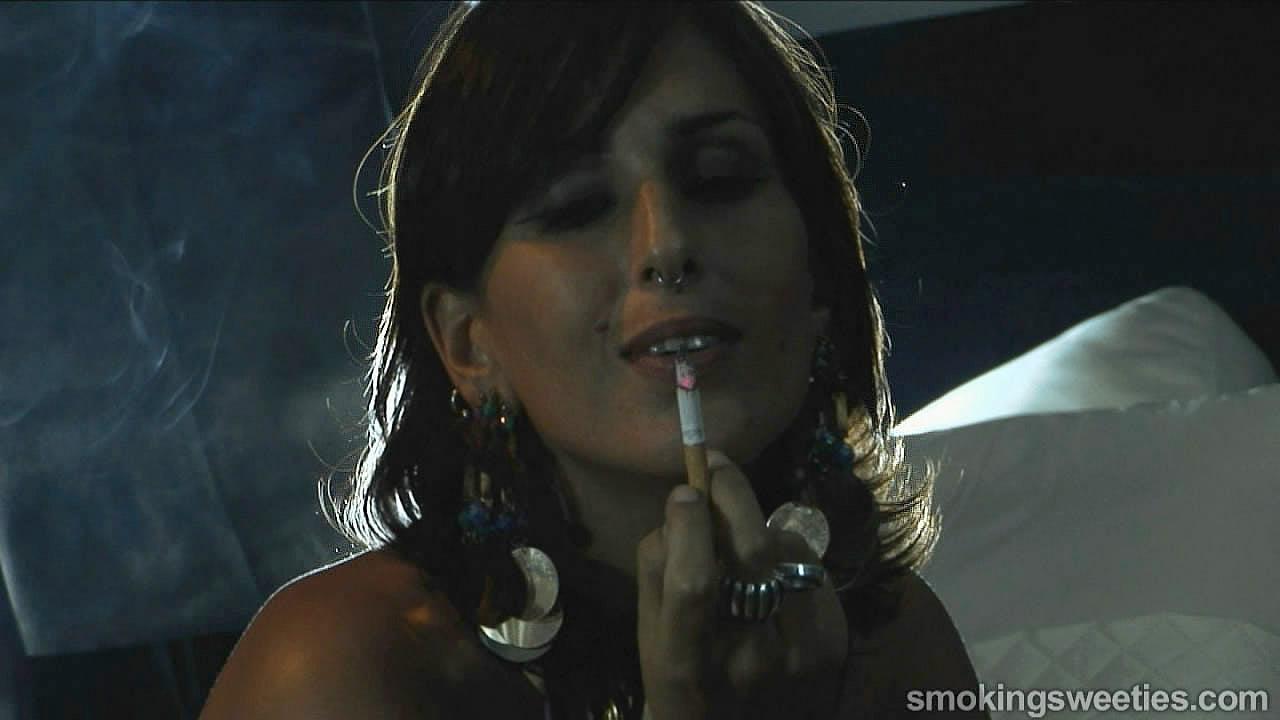 Iranian Smoking Woman part 2