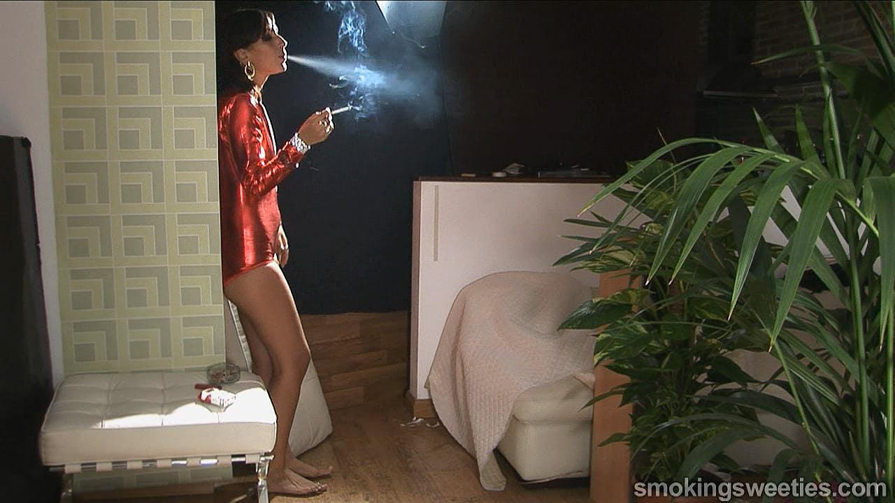 Iranian Smoking Woman part 3