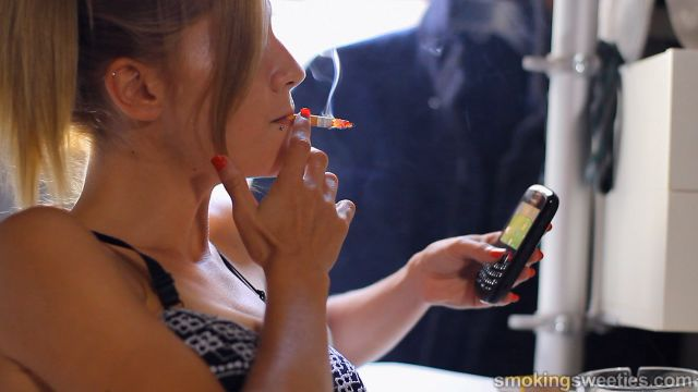 Franchezca: Heavy Smoking Girl