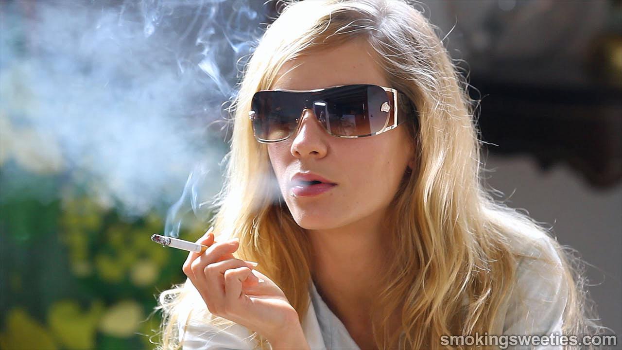 girl next door smoking