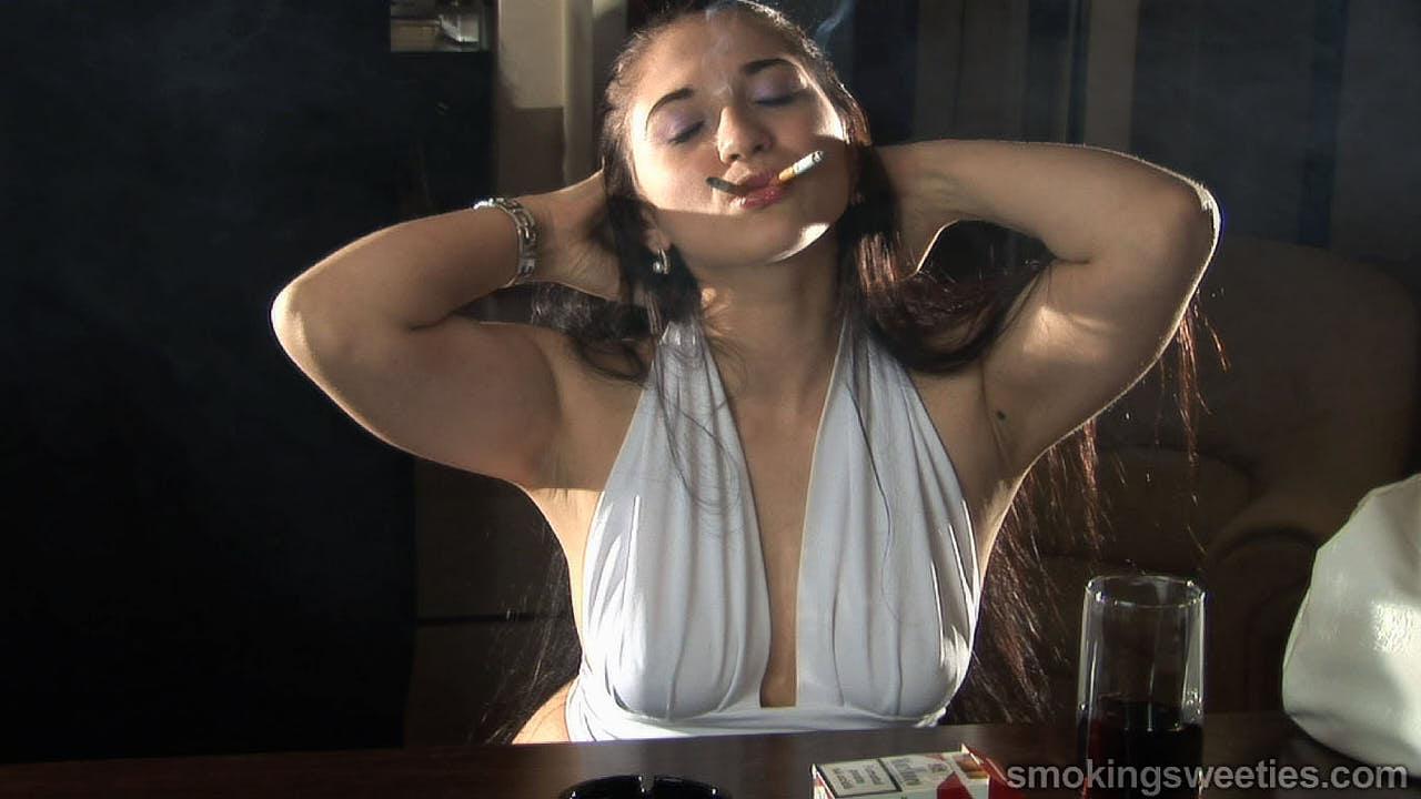 Georgiana: Smoking Two at once