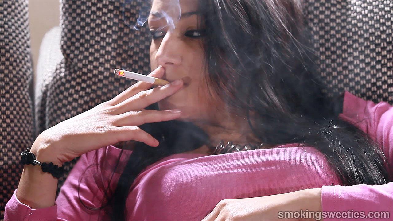 Jana: Girl Next Door Smoking Style