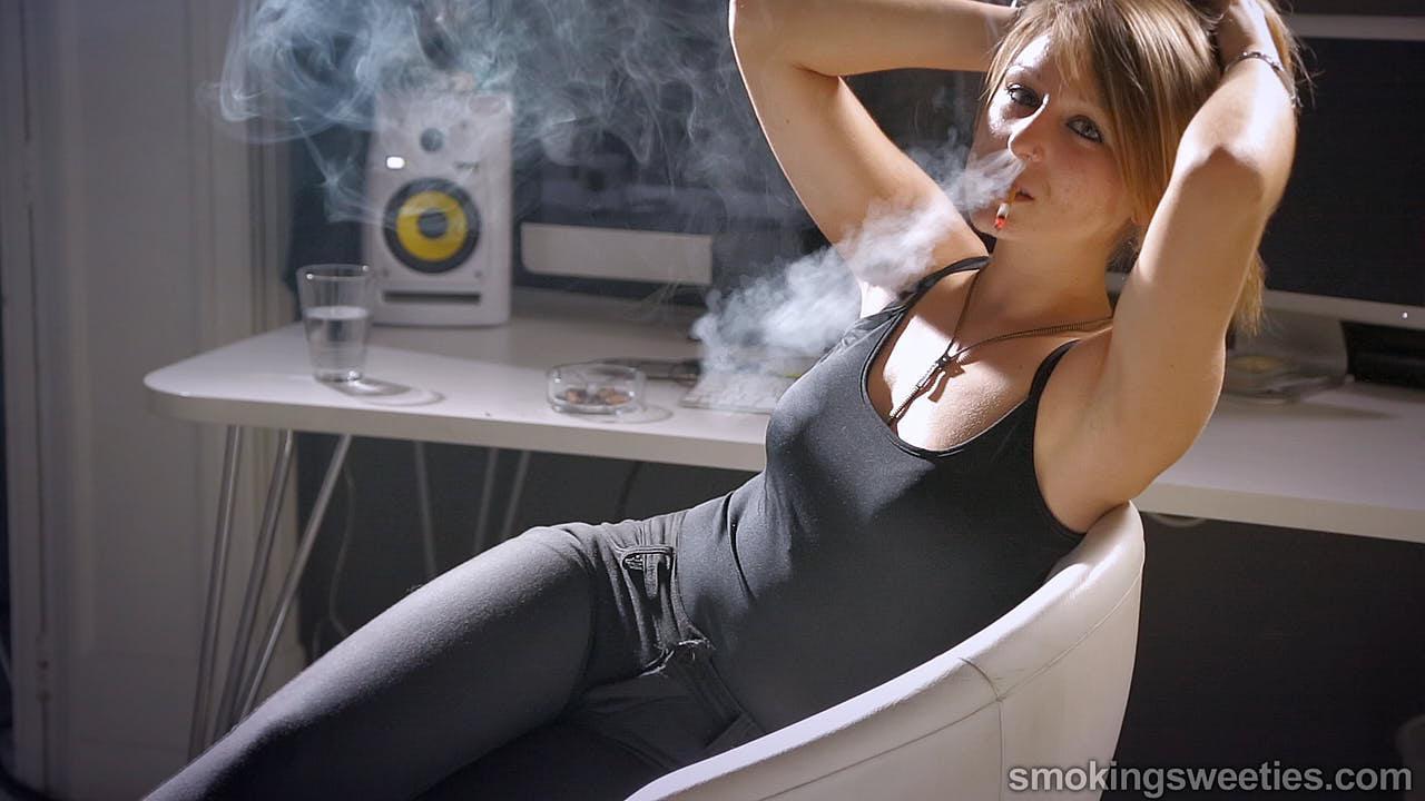 Karina: Everyday heavy smoker