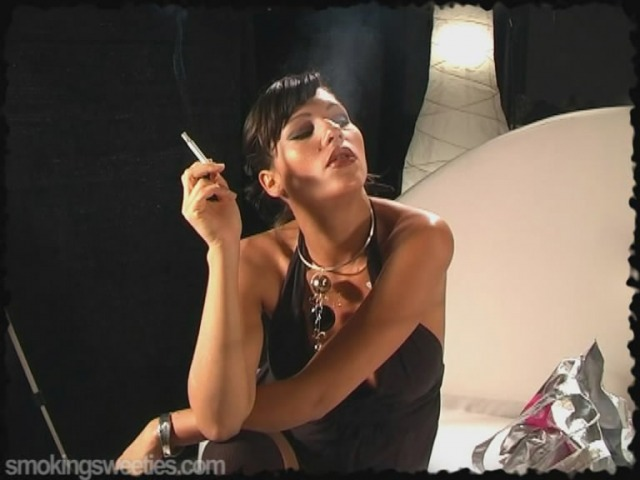 Pregnant Woman Smoking 1