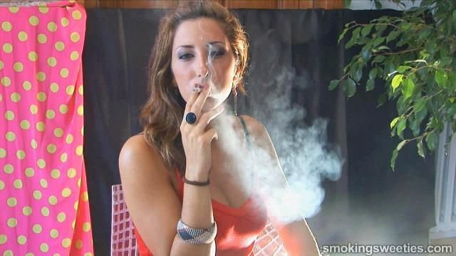 Laura: speed smoking 3 cigarettes.
