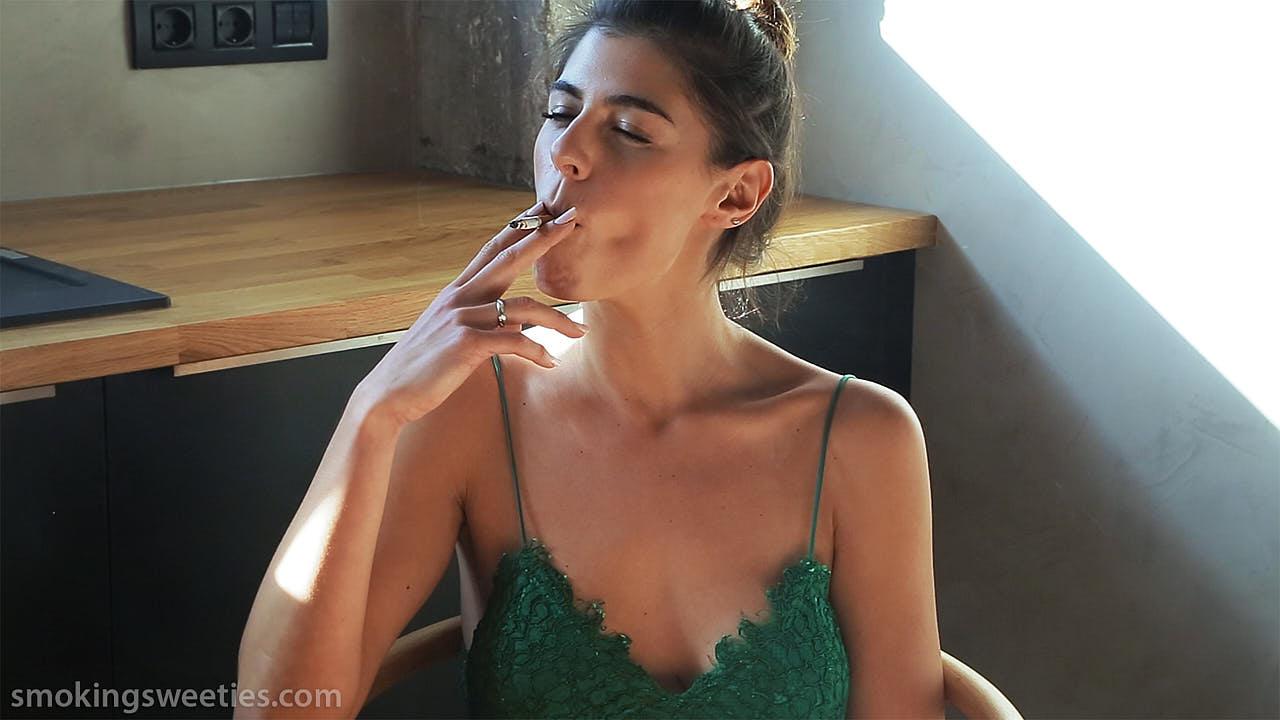 Lorena: Modern Smoking Woman