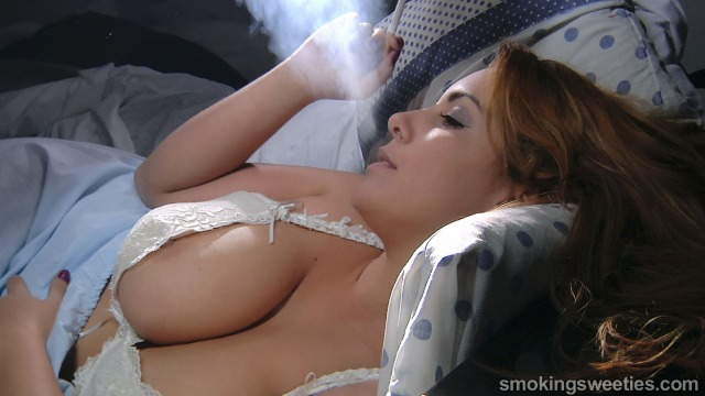 Luana: Big Breasted Smoker