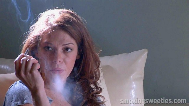 Elena: Smoke rings and Watching TV