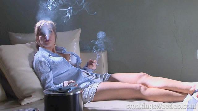 Magda: Smoking while watching TV