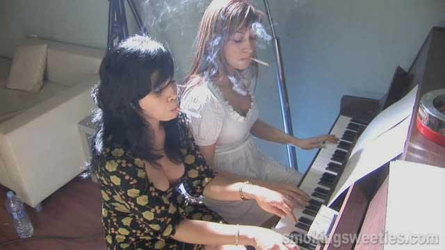 The Piano Teacher - Chain Smoking Duet