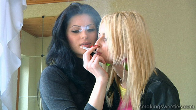 Sisters Smoking All Day Long
