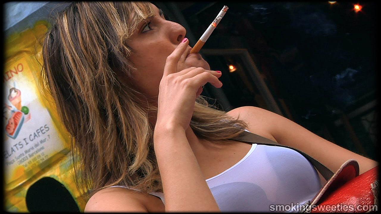 Michelle: Chain smoking girl