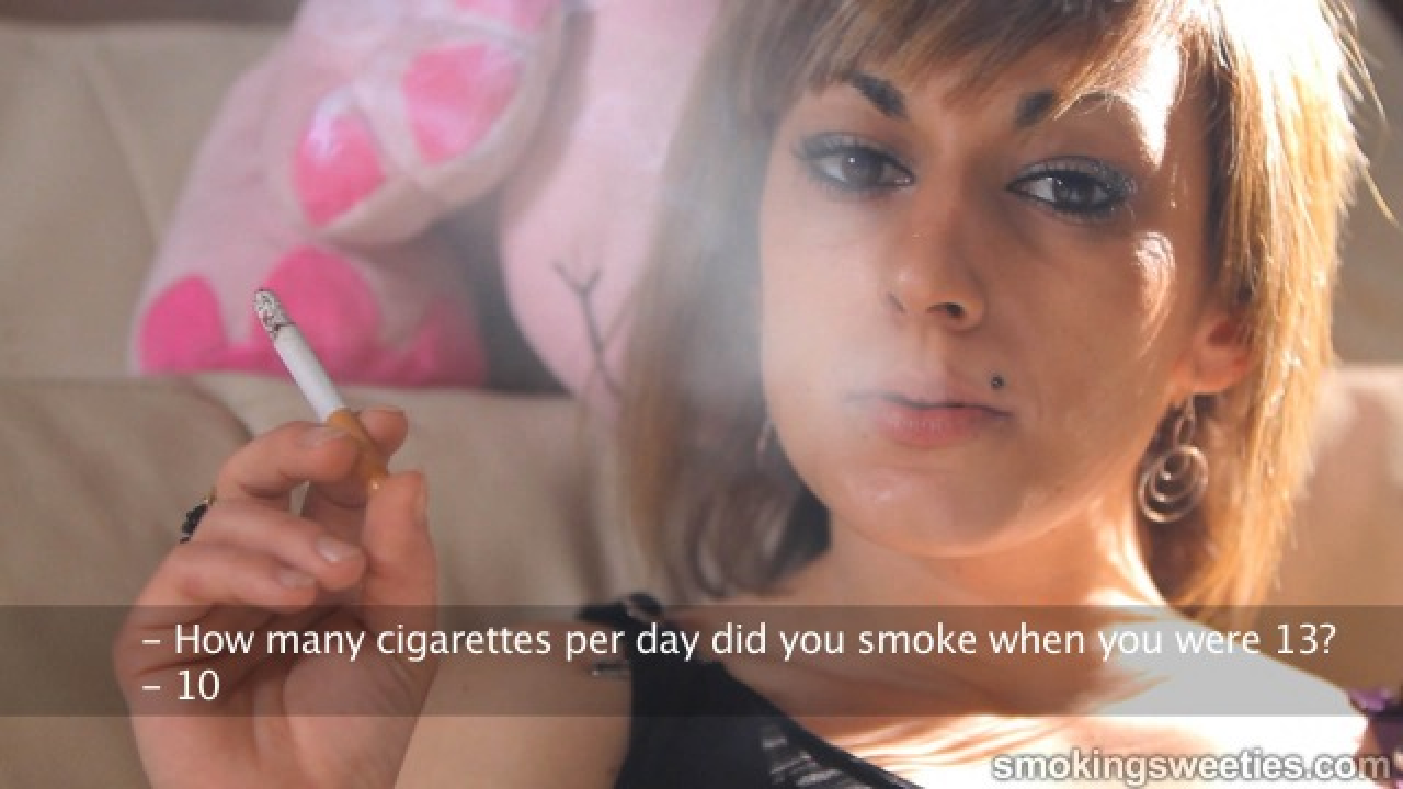 Mireya: Desperately fixes her nicotine deficiency