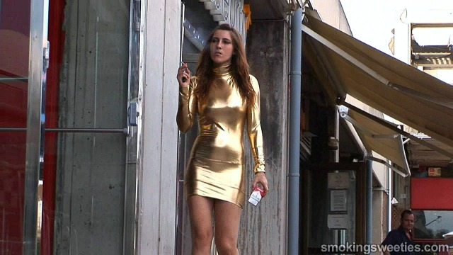 Patricia: Hot Gold Dress