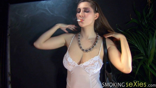 Patricia: breasts full of smoke