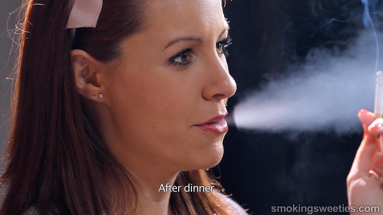 Rebeca: il fumo mi fa sentire donna