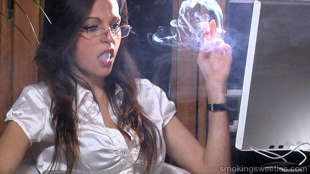 Rosy: Hot Chain-Smoking Secretary