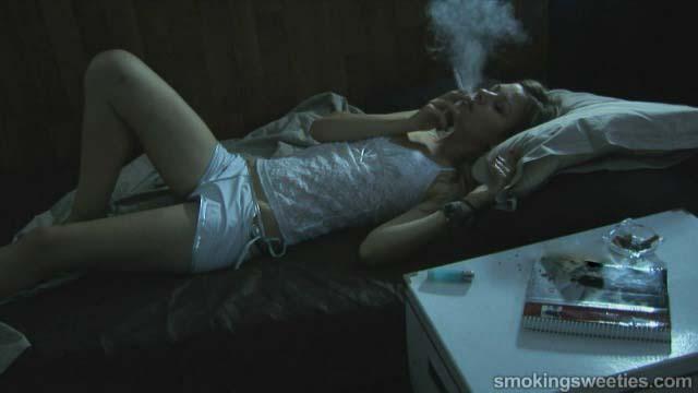 Sandra: Sleeping and Chain Smoking