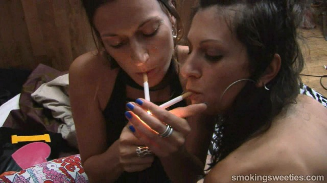 Smoking Schoolgirls