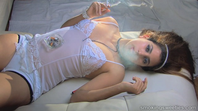 Tatiana: Snaps Smoking Woman