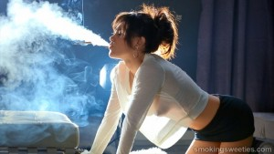 Alba: Taking delight in smoking