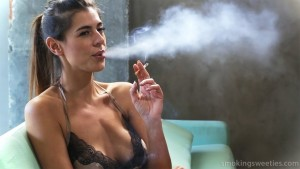 Lorena: Modern Smoking Woman