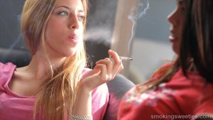 Lucy and Tanya: Heavy Smoking Girls