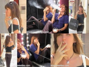 Miri: street and sofa smoking
