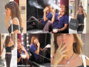 Miri: street and sofa smoking