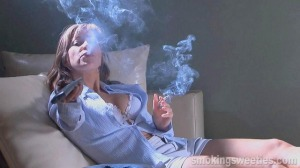 Magda: Smoking and Watching TV