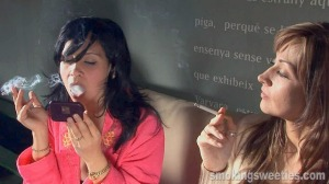 Magda & Yahima: Smoking Chat 2