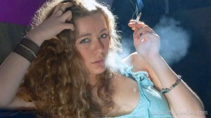 Alejandra: Chain Smoking Girl Interview-Part 1