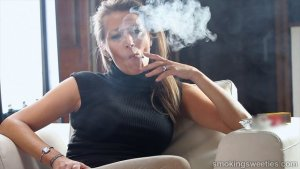 Valeria: Mature Smoker Interview 2
