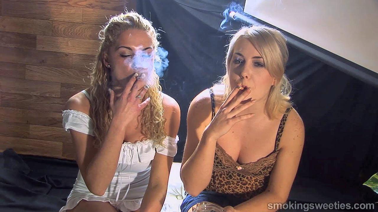 Vanessa-Jessica: Heavy Smoking Women