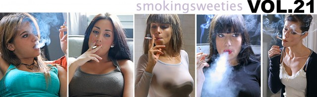 Smoking Girls Vol.21